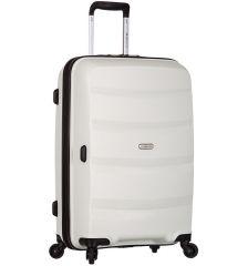 Cestovní kufr SIROCCO T-1208/3-L PP - bílá