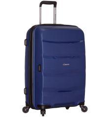 Cestovní kufr SIROCCO T-1208/3-M PP - modrá