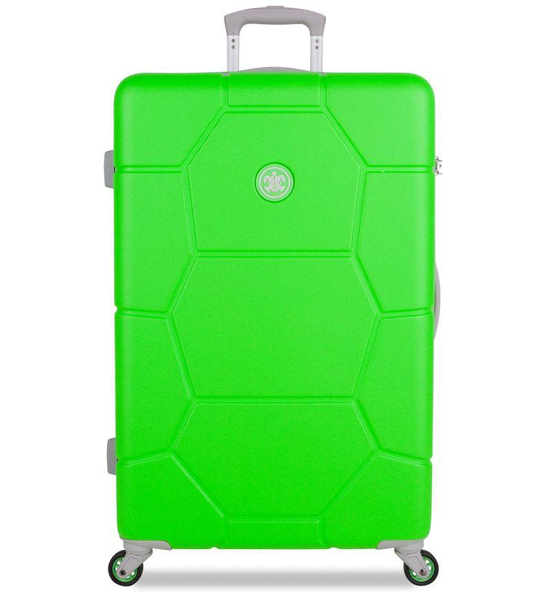 Cestovní kufr SUITSUIT® TR-1251/3-L ABS Caretta Active Green