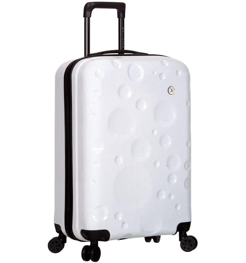 AZURE Kabinové zavazadlo SIROCCO T-1194/3-S PC - bílá