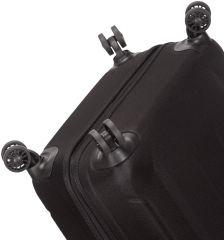 Sada cestovních kufrů SIROCCO T-1177/3 ABS - černá AZURE E-batoh