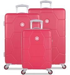 Sada cestovních kufrů SUITSUIT® TR-1247/3 ABS Caretta Teaberry