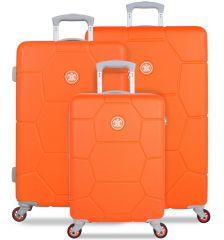 Sada cestovních kufrů SUITSUIT® TR-1249/3 ABS Caretta Vibrant Orange