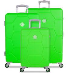 Sada cestovních kufrů SUITSUIT® TR-1251/3 ABS Caretta Active Green