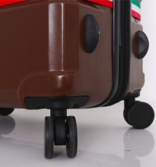 Cestovní kufr MIA TORO M1543/3-L - modrá E-batoh