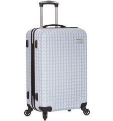 Cestovní kufr SIROCCO T-1195/3-M PC - bílá