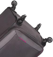 Cestovní kufr SIROCCO T-1201/3-L - šedá AZURE E-batoh