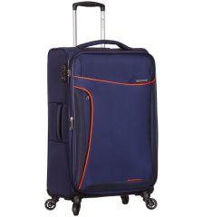 Cestovní kufr SIROCCO T-1201/3-M - modrá