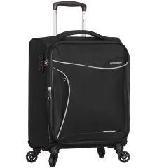 Kabinové zavazadlo SIROCCO T-1201/3-S - černá