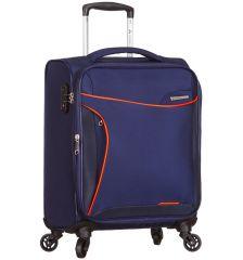 Kabinové zavazadlo SIROCCO T-1201/3-S - modrá