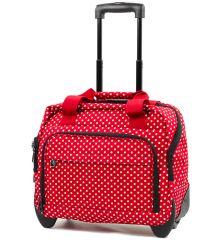 Kufr příruční na notebook MEMBER'S CM-0034 - červená/bílá