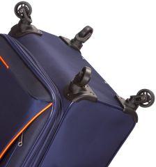 Sada cestovních kufrů SIROCCO T-1201/3 - modrá AZURE E-batoh