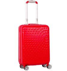 Kabinové zavazadlo AEROLITE T-565/3-S ABS - červená