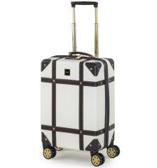 Kabinové zavazadlo ROCK TR-0193/3-S ABS - krémová