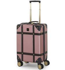 Kabinové zavazadlo ROCK TR-0193/3-S ABS - růžová