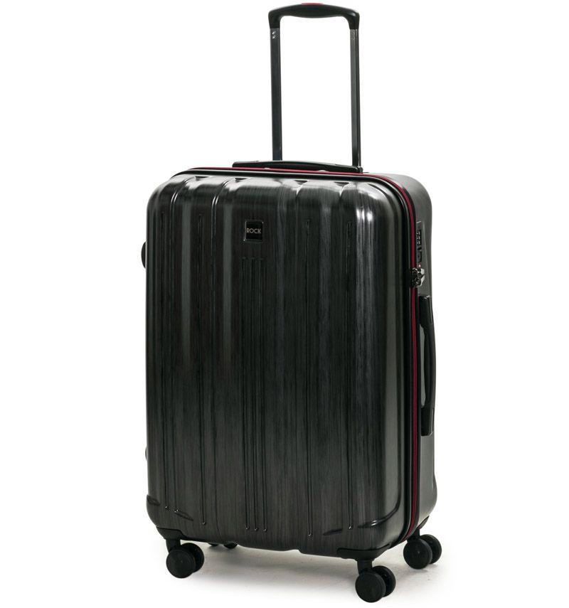 Cestovní kufr ROCK TR-0201/3-M PC - charcoal