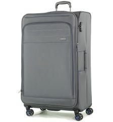 Cestovní kufr ROCK TR-0162/3-XL - šedá