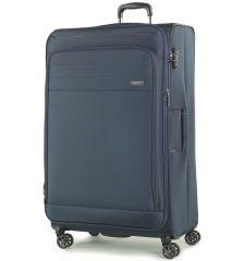 Cestovní kufr ROCK TR-0162/3-XL - tmavě modrá
