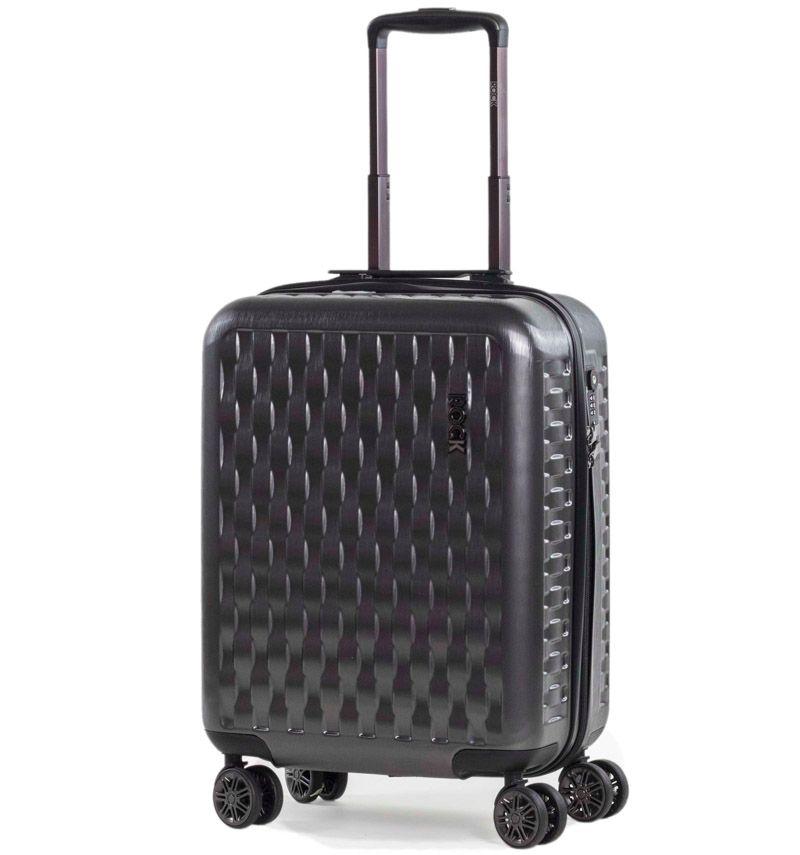Kabinové zavazadlo ROCK TR-0192/3-S ABS/PC - charcoal