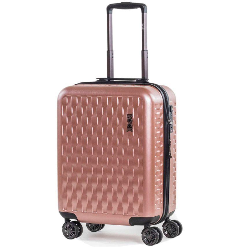 Kabinové zavazadlo ROCK TR-0192/3-S ABS/PC - růžová