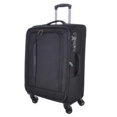 Travelite CrossLITE 4w M Black E-batoh