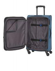 Travelite Derby 4w L Blue E-batoh