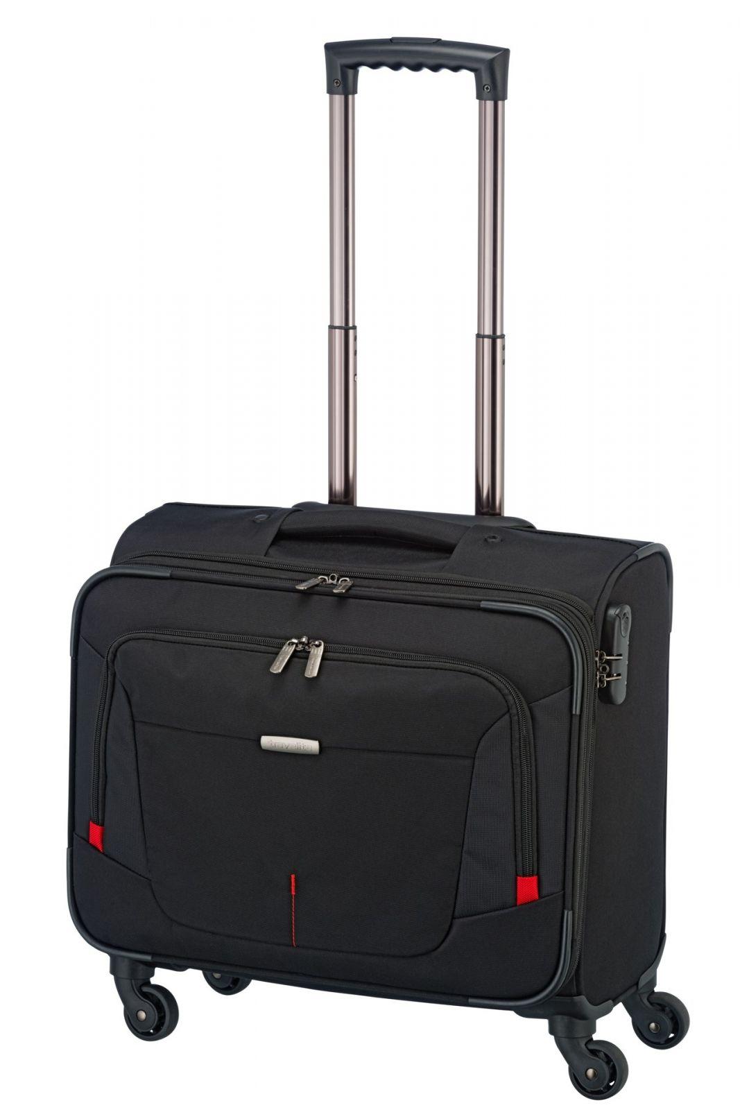 BB:TRAVELITE-1741-01   Travelite @Work 4w Businesswheeler Black