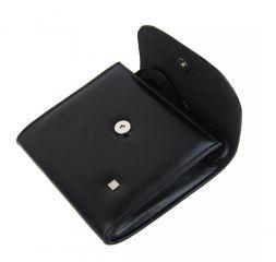 Menší černé matné dámské psaníčko SP111 ELI GROSSO E-batoh