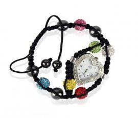 Náramek s hodinkami Shamballa LSB0019 barevný