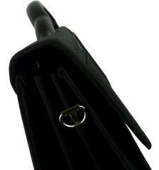 Aktovka REAbags 7618-T - černá/nikl E-batoh