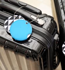 Jmenovka na kufr Addatag - Batik Blue E-batoh