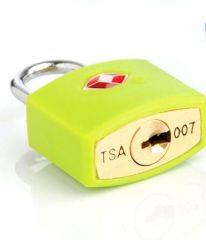 Bezpečnostní TSA zámek na zavazadla TravelBlue TB027 - zelená