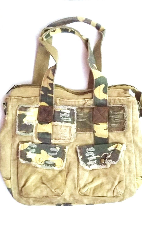 Dámská kabelka na rameno  60694 plátěná