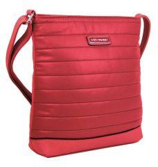 Elegantní prošívaná crossbody kabelka YH1601 červená