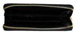 Moderní praktická dámská zipová peněženka ZF5055 černá NEW BERRY E-batoh
