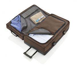 Travelite Basics Doubledecker on wheels Black E-batoh