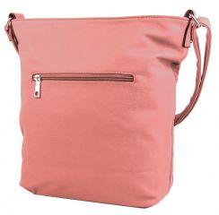 Velká prošívaná crossbody kabelka YH1608 růžová NEW BERRY E-batoh