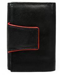 Černá dámská kožená peněženka v krabičce Cavaldi E-batoh