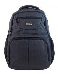 New Berry Elegantní polstrovaný školní batoh L18105 tmavě šedý E-batoh