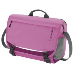 Travelite Basics Messenger Fuchsia