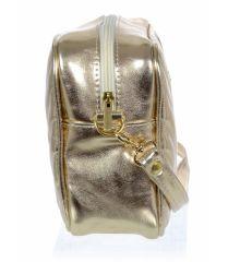 Zlatá dámská crossbody kabelka M288 GROSSO E-batoh