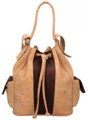 Korková mahagonová dámská kabelka Made in Portugal E-batoh