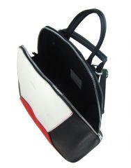 Šedý dámský elegantní batůžek 4187-TS Tessra E-batoh