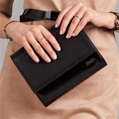 Černé dámské psaníčko W49 ROVICKY E-batoh