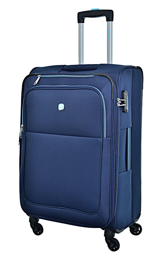 Cestovní kufr Dielle M 720-60-05 modrá