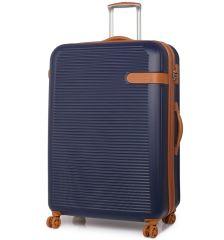 Cestovní kufr ROCK TR-0159/3-XL ABS - modrá