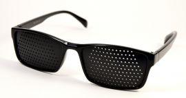 Ajurvédské brýle pro zlepšení zraku 11051 černé