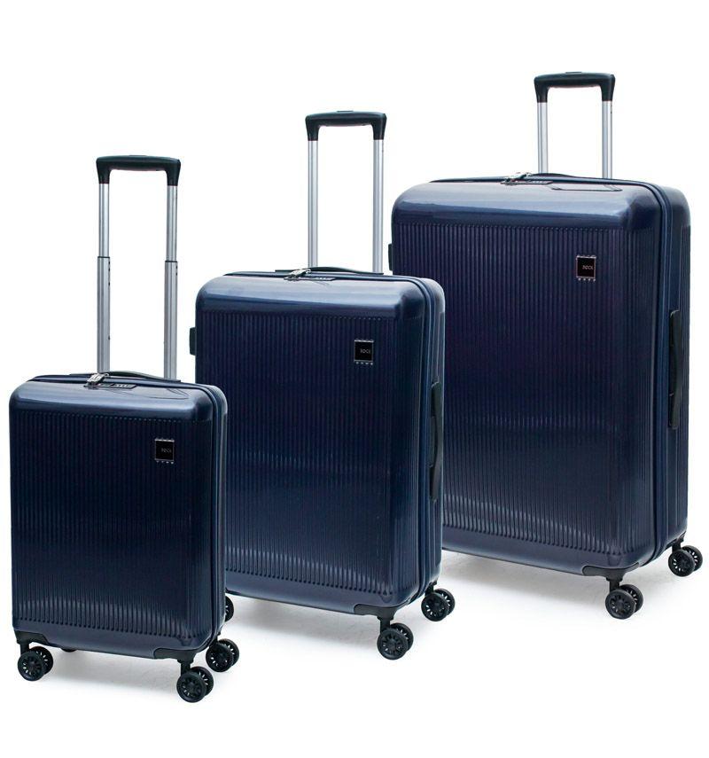Sada cestovních kufrů ROCK Windsor modrá