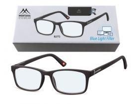 Brýle na počítač BLF BOX 73 BLACK +3,00