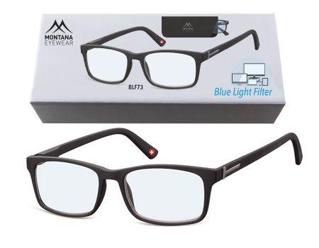 Brýle na počítač BLF BOX 73 BLACK bez dioptrií